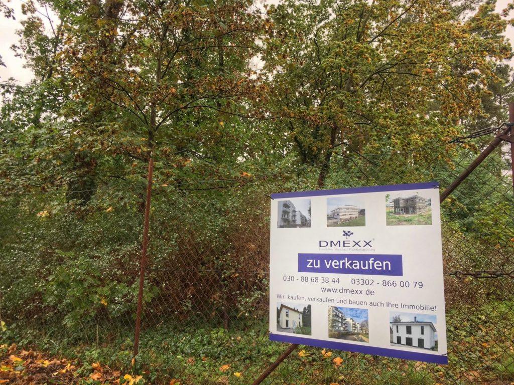 Baugrundstück in Wandlitz