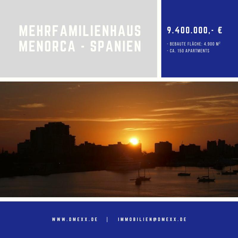 Mehrfamilienhaus auf Menorca