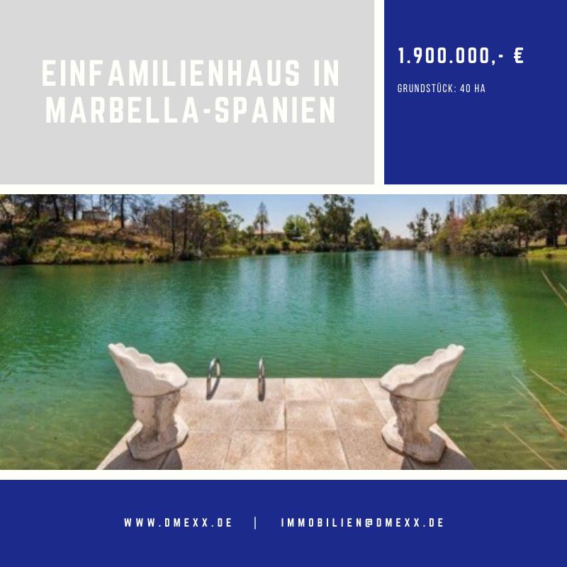 Einfamilienhaus in Marbella-Spanien