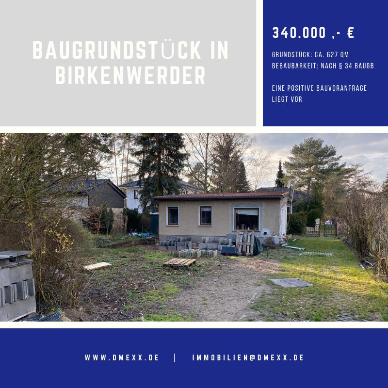 Baugrundstück in Birkenwerder