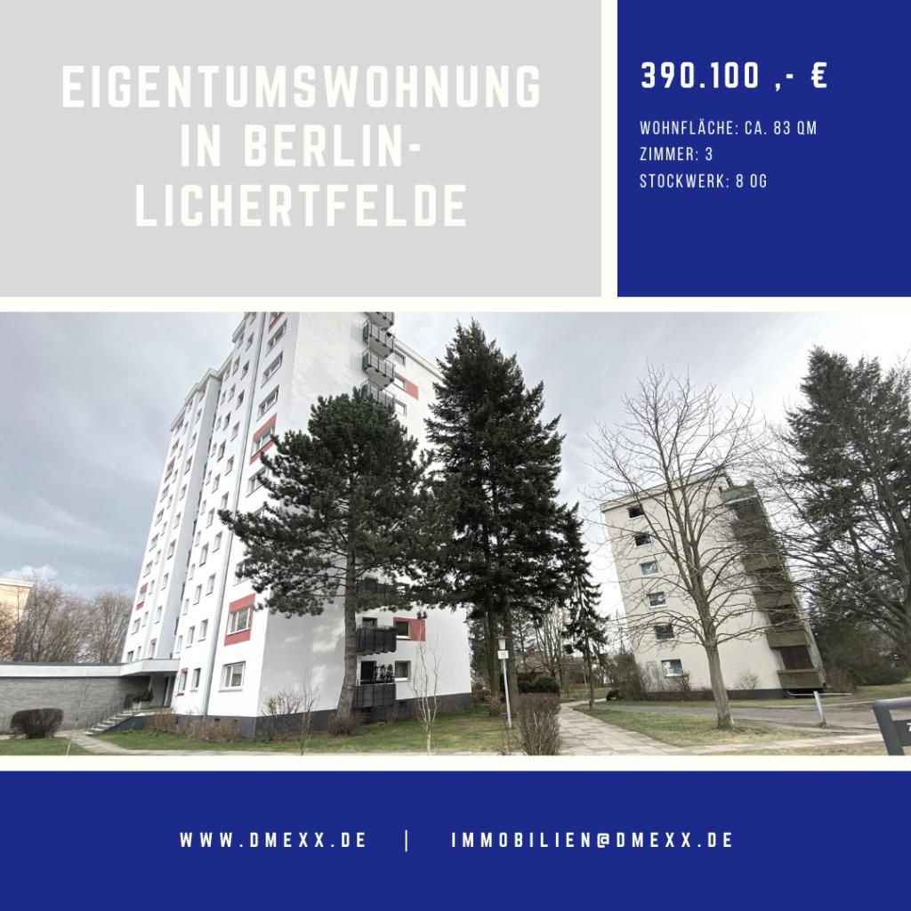 Eigentumswohnung in Berlin-Lichterfelde