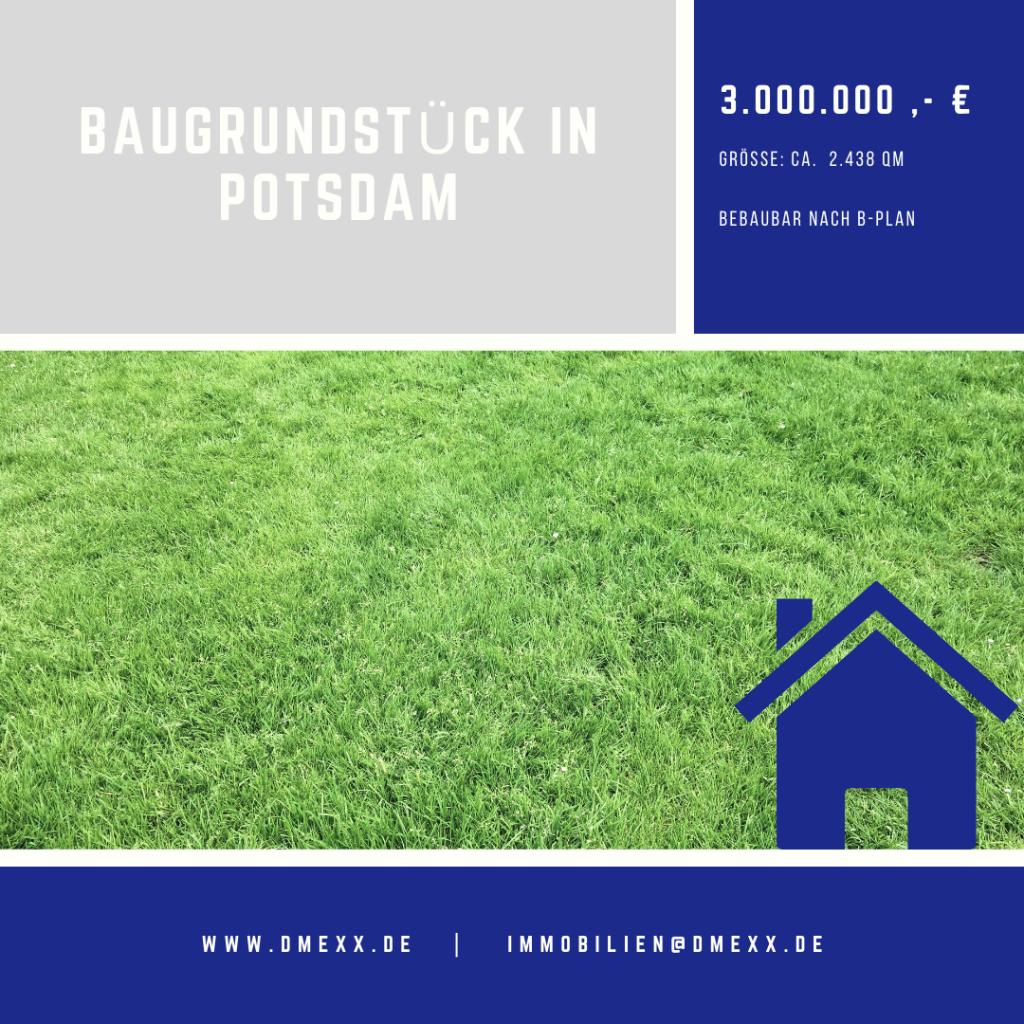 <br>Baugrundstück in Toplage von Potsdam