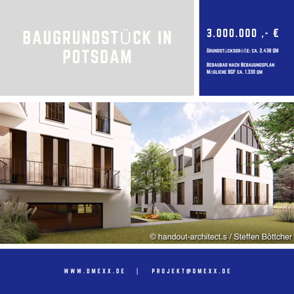 Projekt Eigentumswohnung in Potsdam