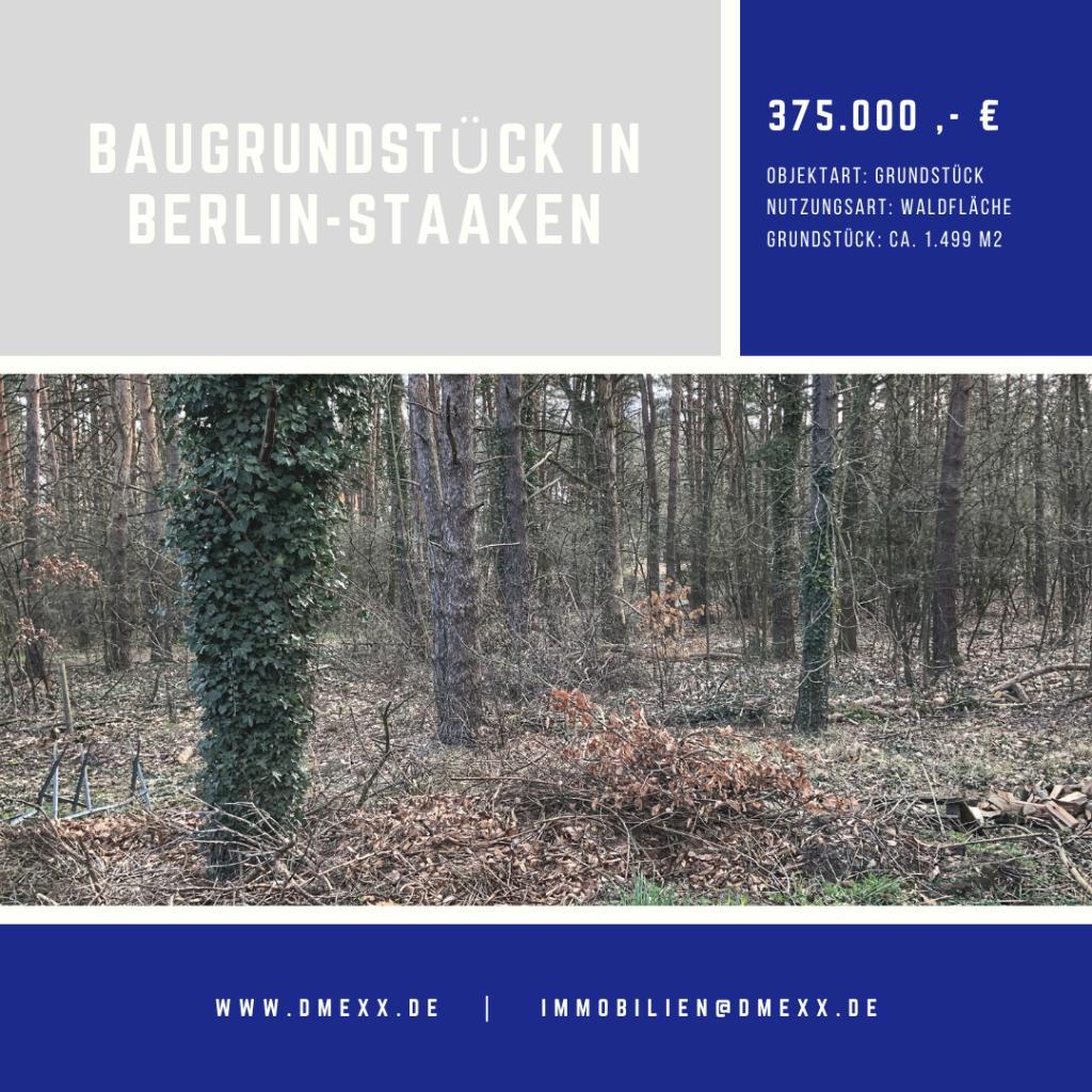 Baugrundstück in Stahnsdorf für Ihre Stadtvilla