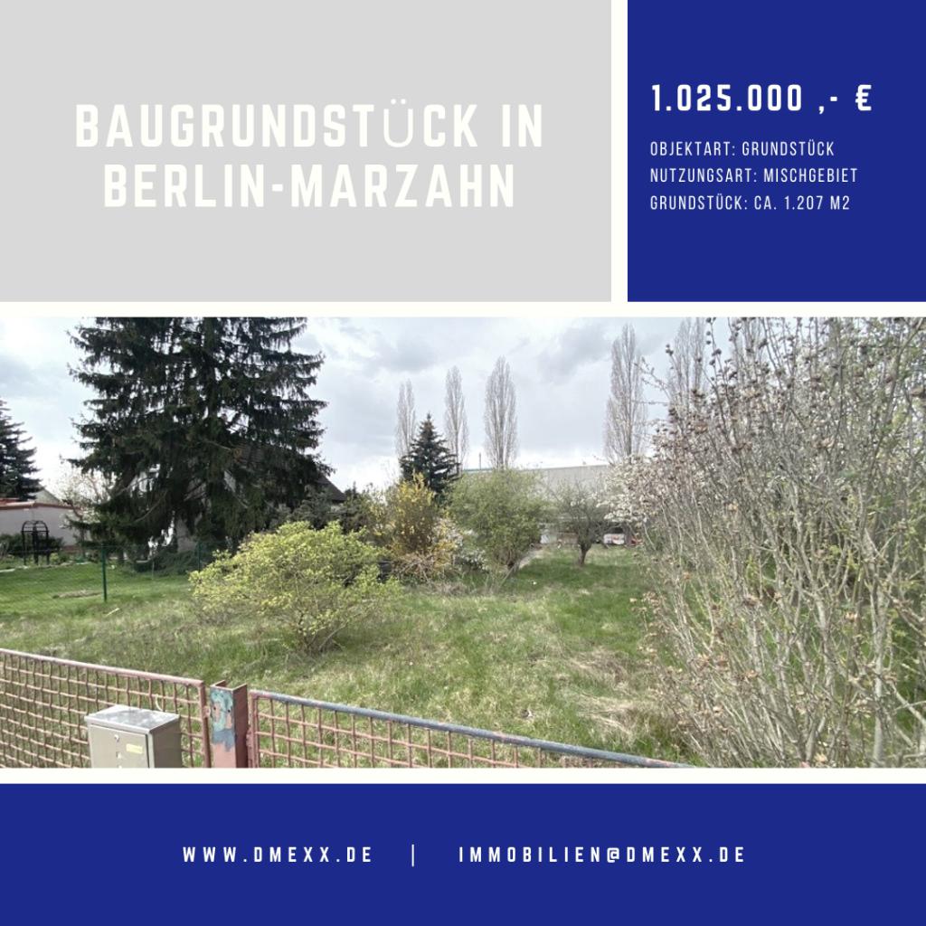 Baugrundstück für Ihr Einfamilienhaus in Berlin-Marzahn